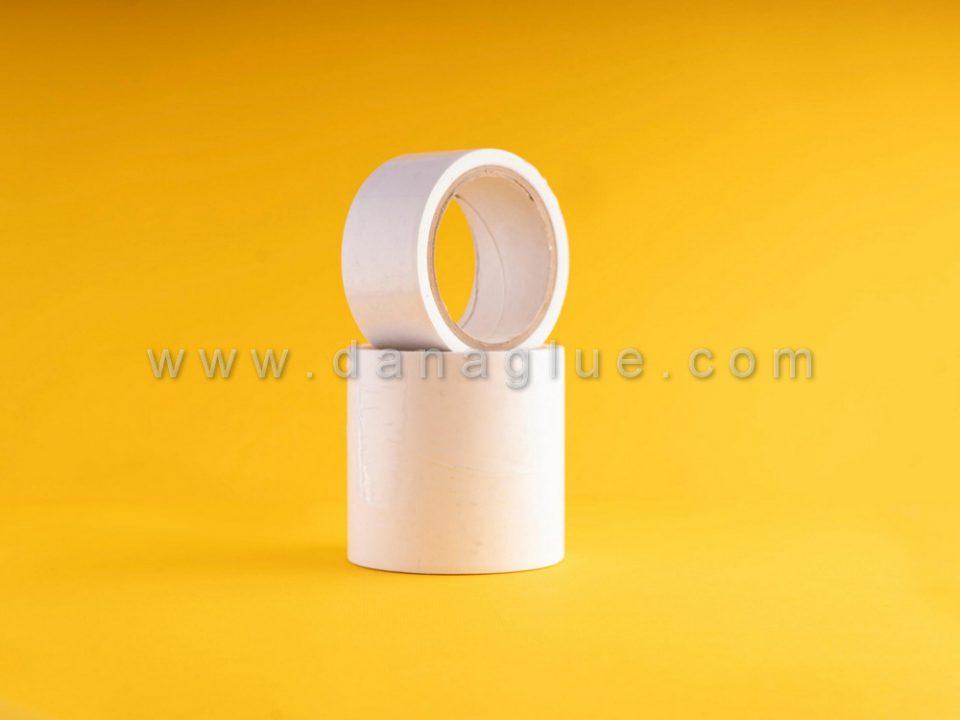 کاربرد نوار پلی اتیلن شیری چسب دار